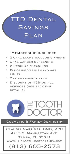 The Tooth Doctor Dental Savings Plan dental insurance alternative