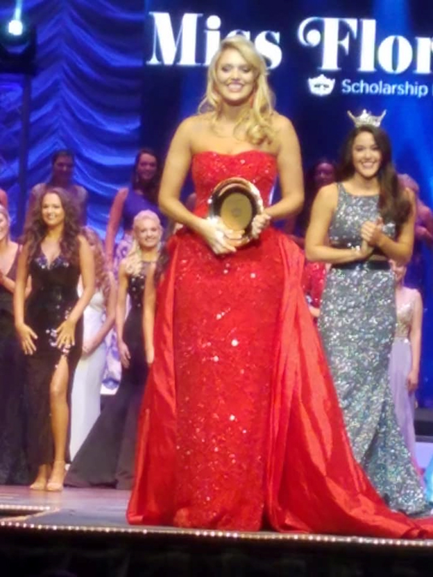 Miss Olivia Butler, Miss Tampa Wins Preliminary Talent at the Miss Florida Pageant!
